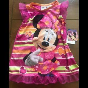 Adorable mini nightgown NEW 18m